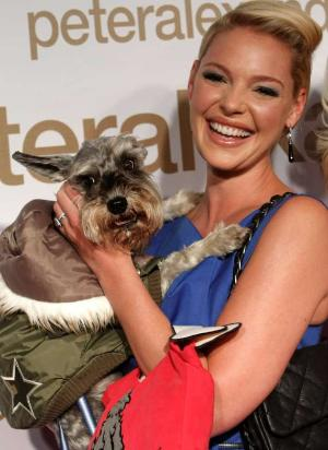 Katherine Heigl Teacup Tutu Charm
